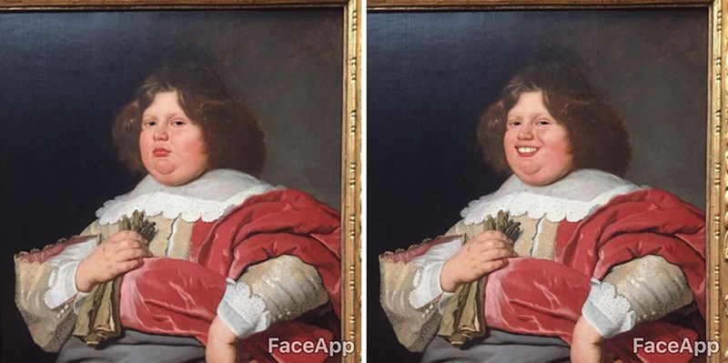 Artist Makes Serious Classical Art Characters In The Museum Smile And It's Hilarious!