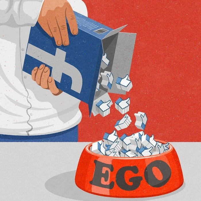 Illustrations by John Holcroft highlighting all that is wrong on today's society and social media and mass media