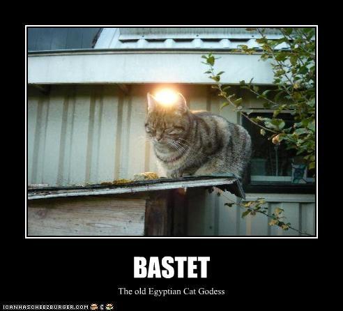 BASTET The old Egyptian Cat Godess