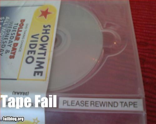 DVD failboat g rated really tape vhs-rewind - 2358367488