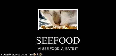 SEEFOOD AI SEE FOOD, AI EATS IT