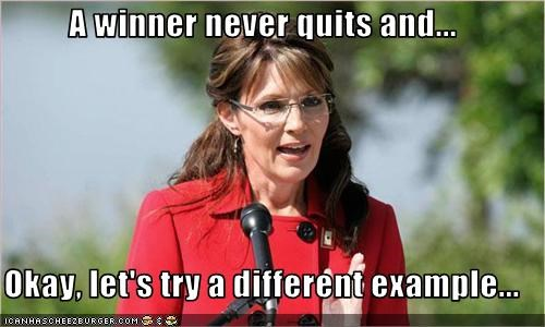 Governor quit Republicans Sarah Palin - 2364058880