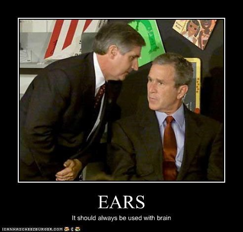 EARS It should always be used with brain