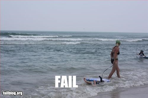 beach behind boogie board child drag g rated kids mom summer fails - 2367448832