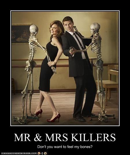 MR & MRS KILLERS Don't you want to feel my bones?
