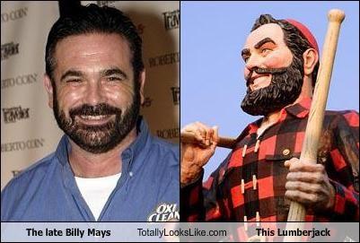 Billy Mays,informercials,lumberjack,statue