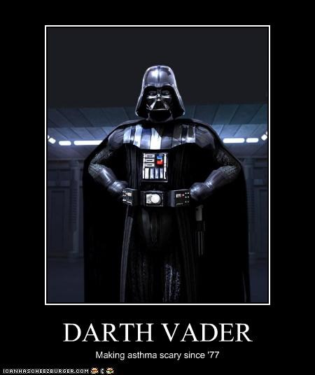 asthma darth vader star wars - 2374074624