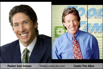 comedian joel osteen televangelist tim allen TV