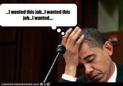 barack obama democrats job president work