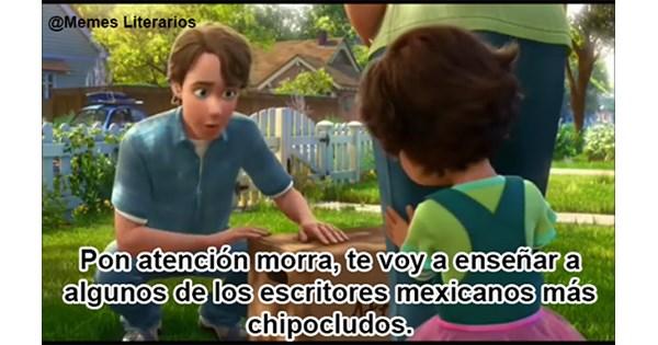 literatura mexico en memes