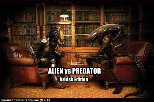 Aliens British chess games movies The Predator - 2387216128
