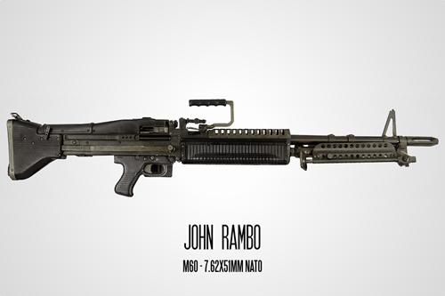 guns famous guns movies - 238853