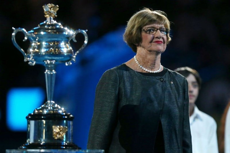 Interview with Margaret Court, a tennis player.