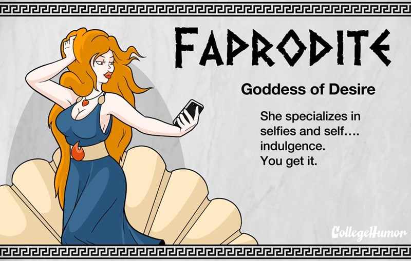 gods college humor greek gods gods of the internet - 239365