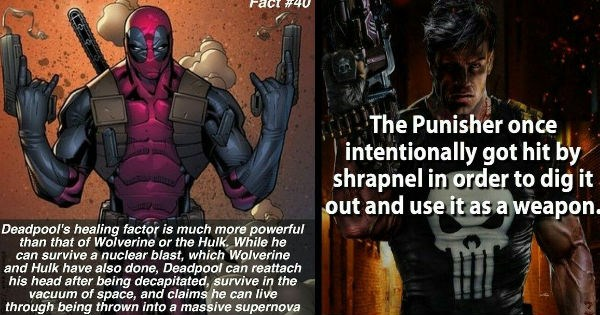 Facts about Marvel superheroes that'll kickstart your knowledge.