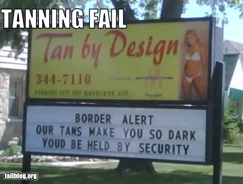 dark g rated racism racist security tanning salon - 2407575808