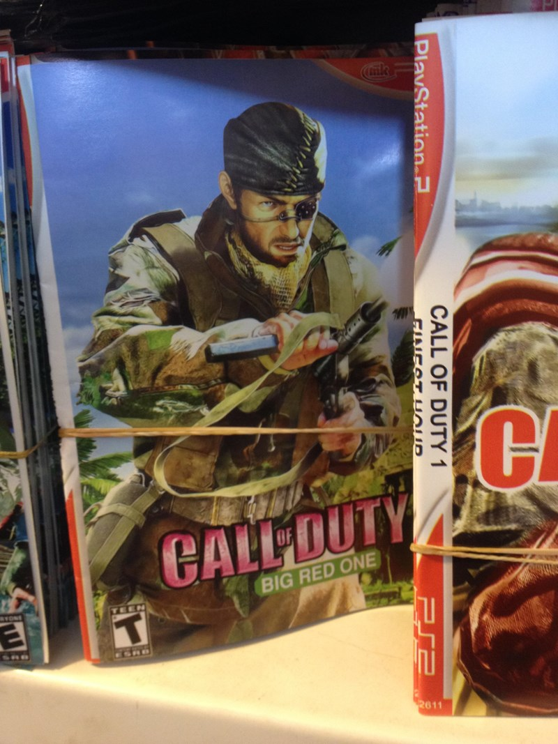 wtf list iraq video games knockoffs seems legit