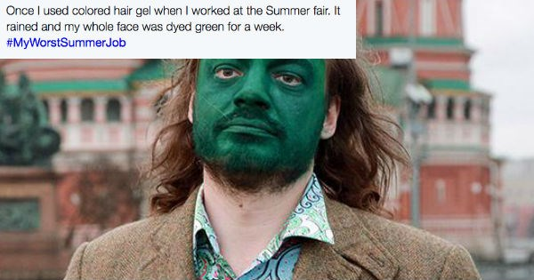 People share stories of their worst summer jobs.