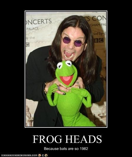 kermit the frog metal Ozzy Osbourne - 2411858176