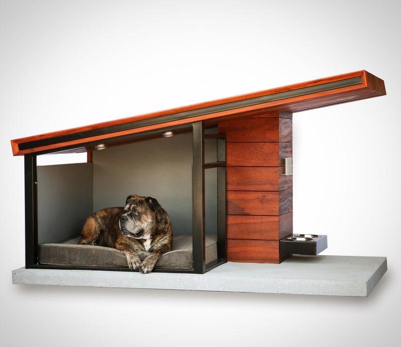 A modern dog house