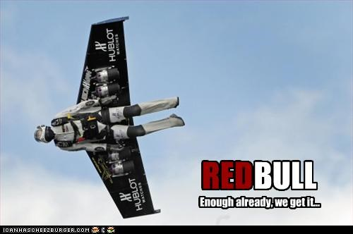 flying red bull - 2417949440