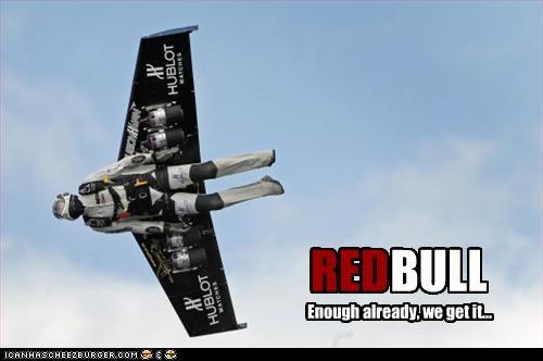 flying red bull - 2417949440
