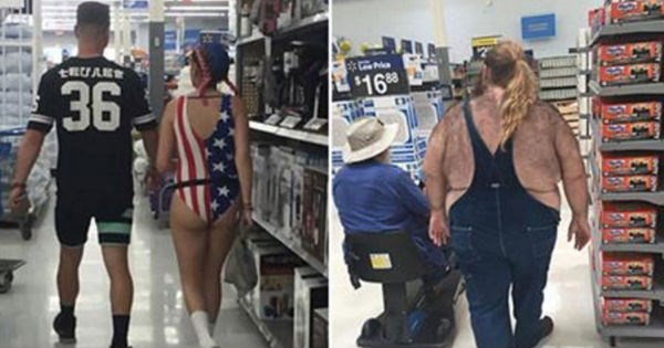 30 strange people you're likely to cross paths with when shopping at Walmart.
