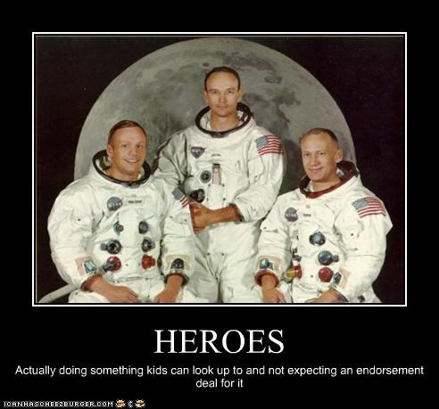 apollo 11 astronaut buzz aldrin michael collins nasa neil armstrong superheroes the moon landing - 2419259136