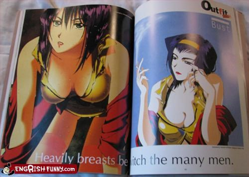 big breasts manga men