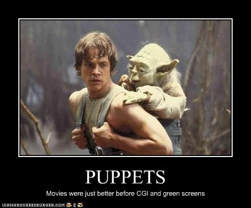 PUPPETS Movies were just better before CGI and green screens