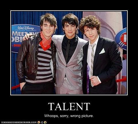 Music,talent,teeny bopper,the jonas brothers