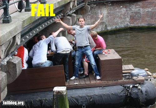 boat,g rated,low bridge,man,Photo,posing
