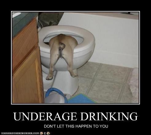UNDERAGE DRINKING DON'T LET THIS HAPPEN TO YOU