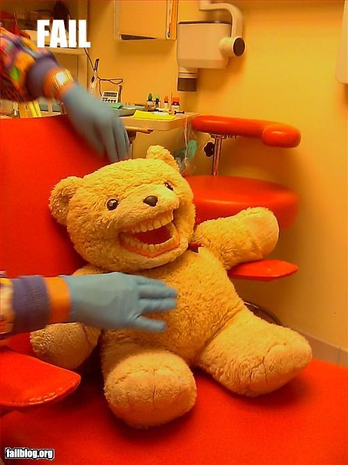bear children dentist g rated Hall of Fame scary teeth - 2431008000