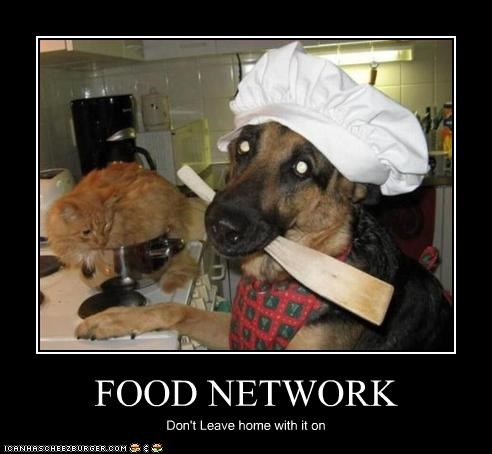 FOOD NETWORK Don't Leave home with it on