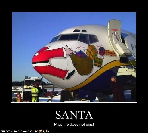 SANTA Proof he does not exist