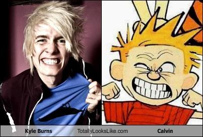 calvin and hobbes comic strips kyle burns Music musician