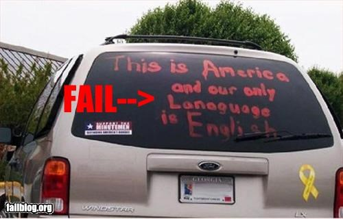 car g rated language misspelling truck windows writing - 2445189888