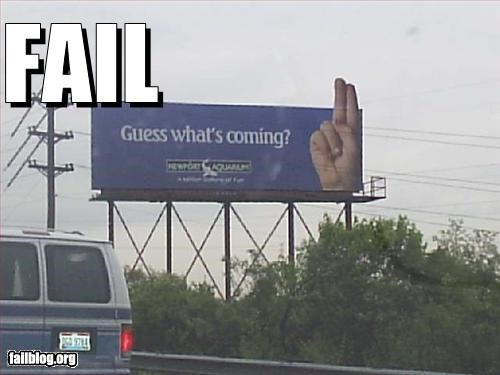 aquarium billboards fingers signs - 2448406272