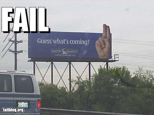 aquarium billboards fingers signs - 2448406272