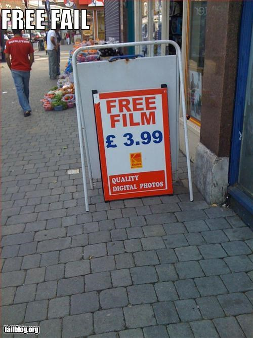 film free g rated price shop signs store - 2448767232