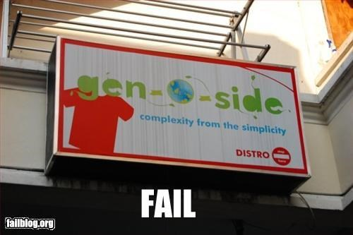 genocide g rated name signs store name - 2450415872
