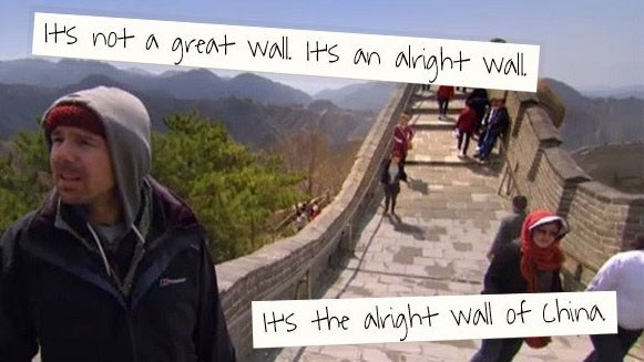 Collection of funny quotes and images from An Idiot Abroad featuring Karl Pilkington.