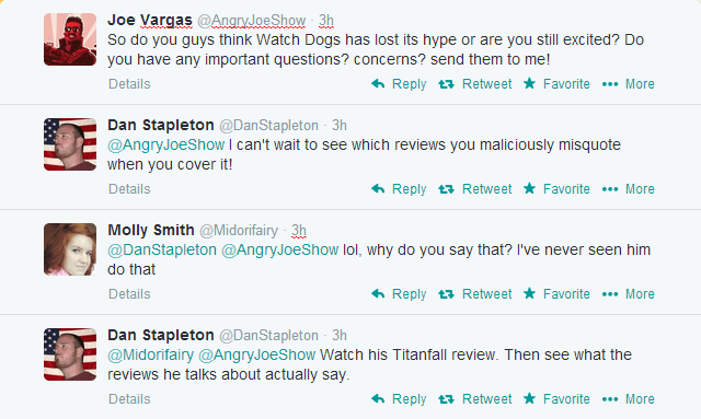 Twitter fight between Dan Stapleton and Angry YouTuber