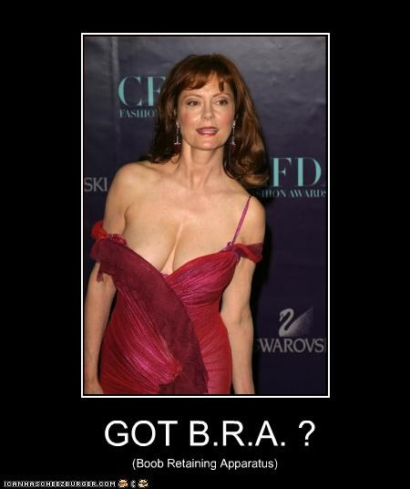 GOT B.R.A. ? (Boob Retaining Apparatus)
