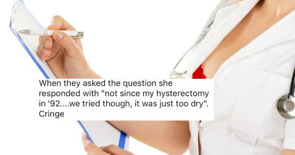 "Nurses reveal the craziest answers they've gotten after asking people the ""sexual history"" question."