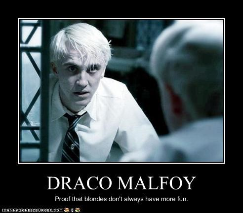 blondes draco malfoy evil Harry Potter sci fi tom felton - 2460687104