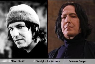 Alan Rickman,Elliott Smith,Harry Potter,movies,Severus Snape,singers
