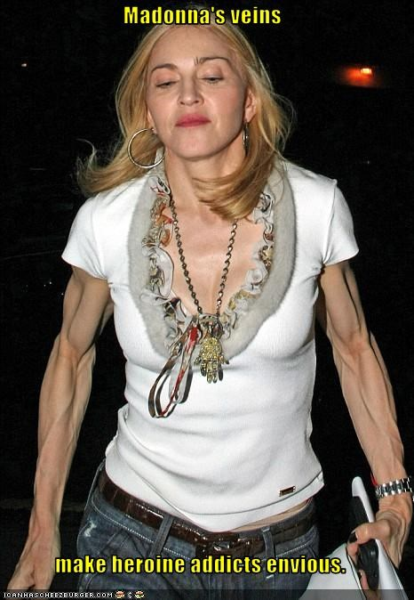 bodybuilder,drugs,heroin,Madonna
