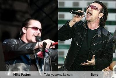 Mike Patton Totally Looks Like Bono Cheezburger Funny Memes